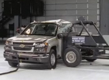 Side Impact Test Truck GMC